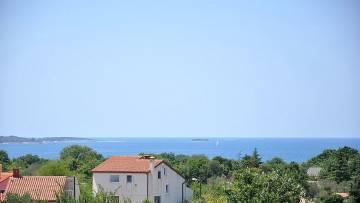 Jednosobni stan s pogledom na more Peroj Fažana